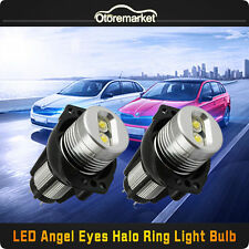 High Power Error Free CREE 20W LED Angel Eyes Halo Ring Light Bulbs For BMW E90
