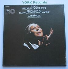 76570 - PUCCINI - Sour Angelica MAAZEL / SCOTTO / HORNE - Ex 1 LP Record Box Set
