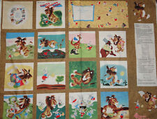 The Little Golden Books Fabric Panel Tawny Scrawny Lion children's book, Sewing
