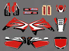 TEAM GRAPHICS DECALS FOR HONDA CR85 2003 04 05 05 06 07 08 09 10 11 12 D02