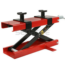 Motorcycle Dirt Bike Scooter Crank Stand New 1100 LB Mini Scissor Lift Jack ATV