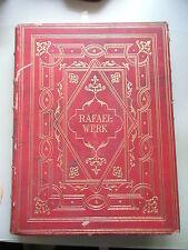 3 Bände Rafael-Werk Sämmtliche Tafelbilder und Fresken des Meisters 1875 Rafael