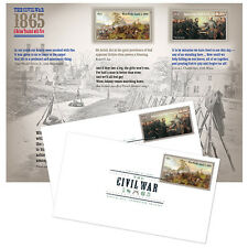 USPS New The Civil War:1865 Cancellation Keepsake (Digital Color Postmark)set/2