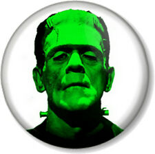 "Frankenstein 1"" 25mm Pin Button Badge Boris Karloff Halloween Horror Cult Retro"
