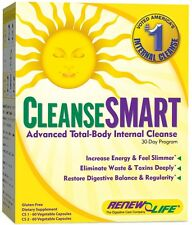 Renew Life Cleanse SMART 30 Day, Liver, Lungs, Kidney, Lymphatic System