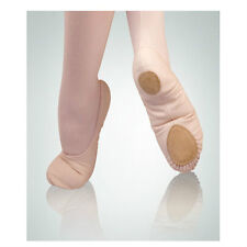 Body Wrappers 246A Adult Size 7M Peach Canvas Split Sole Ballet Slipper