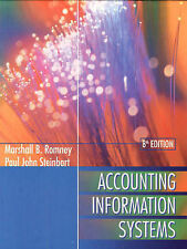 Accounting Information Systems by Marshall B. Romney, Barry E. Cushing 8th