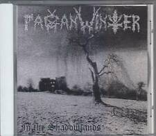 Pagan Winter - In The Shadowlands  (CD 1997) Black/Death - Private Press !!!