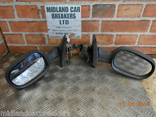 RENAULT MEGANE MK1 PHASE 1 1999 PAIR DRIVER PASSENGER MANUAL DOOR WING MIRROR