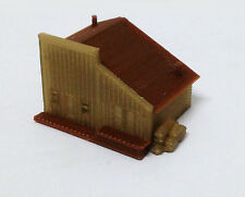 Outland Models Train Railway Layout Building Old West Depot / Store Z Scale