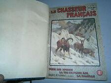 Revue le chasseur Françai relié année 1948 +Janvier 1949