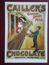 POSTCARD  CAILER'S CHOCOLATE - GENUINE SWISS MILK
