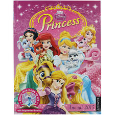 DISNEY PRINCESS 2015 ANNUAL WITH AUGMENTED REALITY & PHONE/TABLET APP RRP £7.99