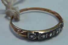 """Vintage 14K Yellow Gold """"New Old Stock"""" 1930's Wedding Band w/Tag, size 6"""