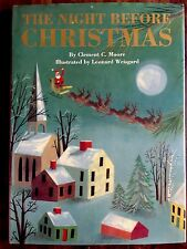 The Night Before Christmas by Clement Moore ~ Children's HCDJ ~ Nice!