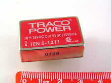 Traco Power TEN 5-1211 DC to DC Converter In 9-18VDC Out 5VDC 1000mA OM917B