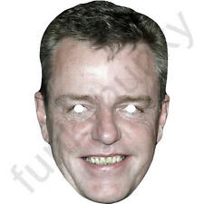 Suggs 1980's Retro Madness Celebrity Card Face Mask - All Our Masks Are Pre-Cut!