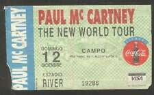 Argentina Paul Mc Cartney New World Tour 1993 Concert Ticket