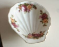 *COTTAGE ROSE*  BONE CHINA OSTER SHELL ORNAMENT