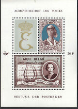 Belgium 1966 Queen Elisabeth National Anti-Tuberculosis League MNH S/S Sc # B790