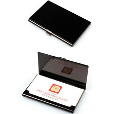 Hot Creative Aluminum Holder Metal Box Cover Credit Business Card Wallet Black
