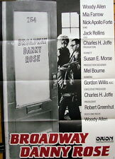 Woody Allen BROADWAY DANNY ROSE  `84 Plakat A1