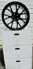 "20"" FACTORY STYLE DODGE CHARGER SRT HELLCAT GLOSS BLACK WHEELS RIMS"