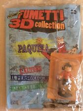 FUMETTI PERSONAGGI 3D COLLECTION PAQUITA - PEDRITO EL DRITO  - HOBBY & WORK