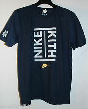 Nike Air Kith NY Navy Blue Gold Olympics S/S Shirt Men's Size LG Large Brand New