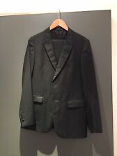 Z Zegna Dotted Suit Black EU 48