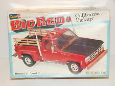 "Vintage Revell 1979 Chevy ""California Big Red"" Pickup Truck Kit"