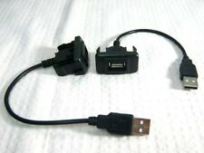 1pc TOYOTA HILUX VIGO FORTUNER 1PC PORT USB IN SOCKET AND CABLE