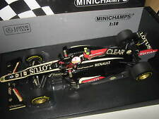 1:18 LOTUS F1 TEAM RENAULT E21 R. Grosjean 2013 110130008 Minichamps OVP NEW