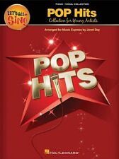Let's All Sing Pop Hits Young Voices Piano Vocal Choir Voice PVG Music Book