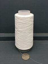 100G CONE VERY FINE 2/100 MERC COTTON (IMITATION SILK) YARN RAW WHITE ECRU