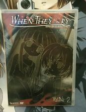 When They Cry Anime DVD Series: Higurashi no Naku Koroni - Vol. 2
