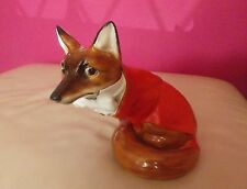 VERY RARE ROYAL DOULTON FOX IN HUNTING DRESS HN100 - VERY GOOD CONDITION !!