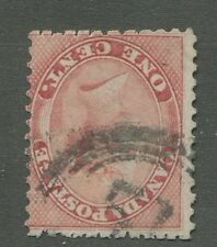 """CANADA #14 USED 4-RING NUMERAL CANCEL """"51"""""""