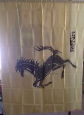 Ferrari Original Stripped Racing Horse Flag From The 1980's Extremely Rare!