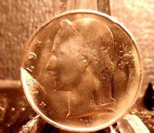 CIRCULATED 1949 5 FRANCS BELGIUM  COIN (72116)