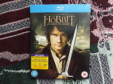 THE HOBBIT AN UNEXPECTED JOURNEY - UK PAL BLURAY