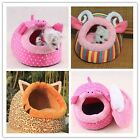 Soft Animals Pet Dog Cat Bed House Mat Kennel Doggy Warm Cushion Basket Cute -LG