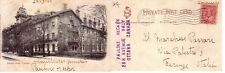 POST CARD  TORONTO   CANADA  HOTEL QUEEN'S VIAG 1905