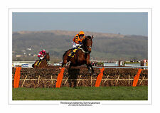 CHELTENHAM 2016 THISTLECRACK TOM SCUDAMORE HORSE RACING A4 PHOTO PRINT