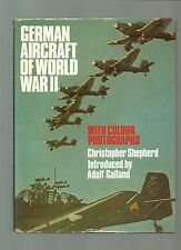 SHEPHERD/GERMAN AIRCRAFT OF WORLD WAR II/1979 HB/FINE/DW/LUFTWAFFE/WW2/WWII/RAF