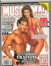 MUSCLEMAG muscle bodybuilding mag/WWE Diva TRISH STRATUS/Mike Ohearn 5-98 #191