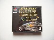 Star Wars Rebel Assault II ps1 PlayStation 1