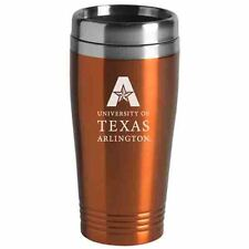 University of Texas at Arlington - 16-ounce Travel Mug Tumbler - Orange