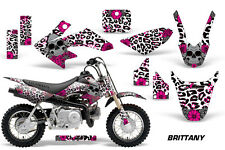 AMR Racing Honda Graphic Kit Bike Decal CRF 50 Decal MX Parts 2004-2013 BRITTANY