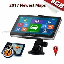 XGODY 7'' SAT NAV GPS For Car&Truck With Lifetime US Full EU 3D Maps Navigation